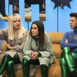 Ylenia, Fede y Raquel Martín nominando durante la gala 2 de 'GH Dúo'