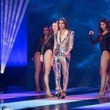 """Ana Guerra canta """"Bajito"""" en los Premios Forqué 2019"""