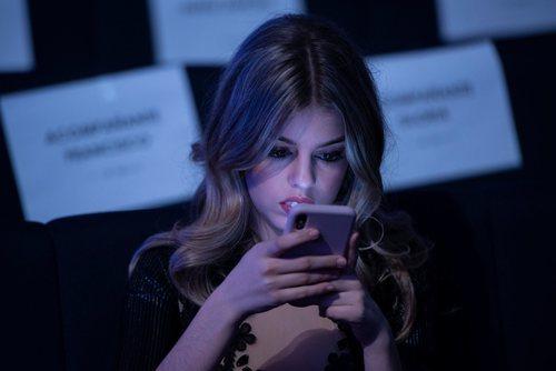 Nerea Rodríguez, concursante de 'OT 2017', en los Premios Forqué 2019