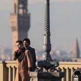 El rodaje de la tercera temporada de 'La Casa de Papel' llega a Florencia con Álvaro Morte y Pedro Alonso