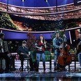 María Villalón es Zaz en la Gala 12 de 'Tu cara me suena'