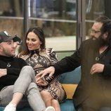 Kiko Rivera, Irene Rosales y Juan Miguel durante la gala 3 de 'GH Dúo'