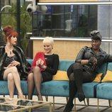 Maria Jesús Ruiz, Carolina Sobe y Yurena durante la gala 3 de 'GH Dúo'