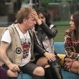 Fortu, Yoli Sáez y Raquel durante la gala 3 de 'GH Dúo'