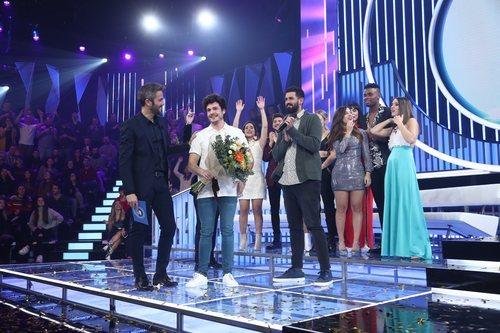 Miki Núñez, representante de España en Eurovisión 2019, en 'OT 2018'