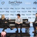 Miki, Ana Bordas y Roberto Leal presentan la participación española en Eurovisión 2019