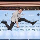 Miki Nunyez muy contento por su participación en Eurovisión 2019