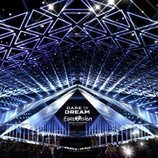 Vista frontal del escenario de Eurovisión 2019