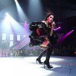 """Eleni Foureira canta """"Fuego"""" y """"Tómame"""" en la preselección de Eurovisión 2019"""