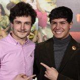 Miki Nunyez y Alfred García en la presentación de 'Boca Norte'