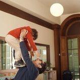 Berto con su hijo en la segunda temporada de 'Mira lo que has hecho'