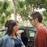 Berto Romero y Eva Ugarte en la segunda temporada de 'Mira lo que has hecho'