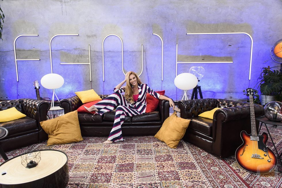 Paula Vázquez en el salón de 'Fama a bailar 2019'