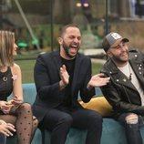 Antonio Tejado y Kiko Rivera riendo en la gala 4 de 'GH Dúo'