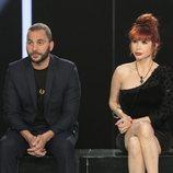 Antonio Tejado y Yurena en la sala de expulsión en la gala 4 de 'GH Dúo'