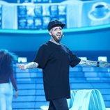 María Villalón como Nicky Jam en la Gala 13 de 'Tu cara me suena'