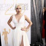 Lady Gaga en la alfombra roja de los SAG Awards 2019