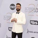 Ricky Martin posa en el photocall de los SAG Awards 2019