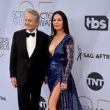 Michael Douglas y Catherine Zeta-Jones en los SAG Awards 2019
