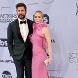 John Krasinski y Emily Blunt posan en los SAG Awards 2019