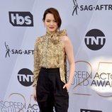 Emma Stone posa en la alfombra roja de los SAG Awards 2019