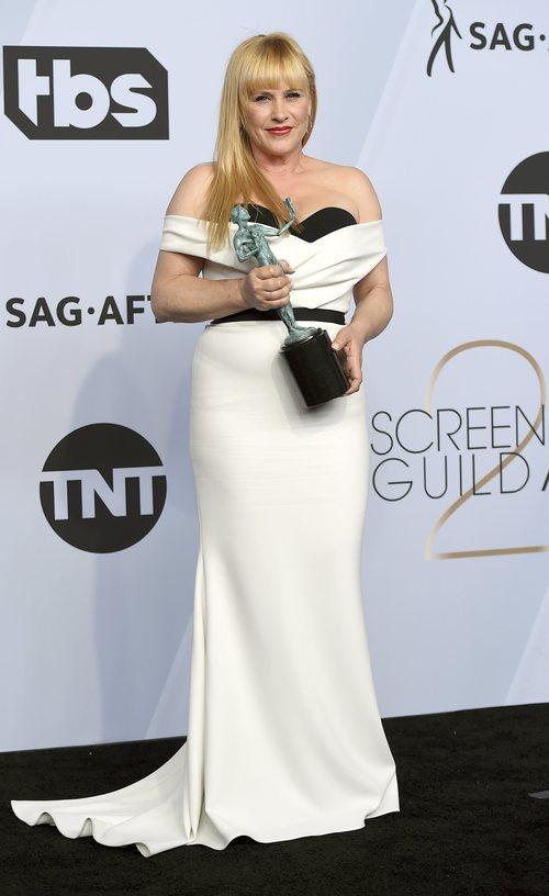 Patricia Arquette en los SAG Awards 2019