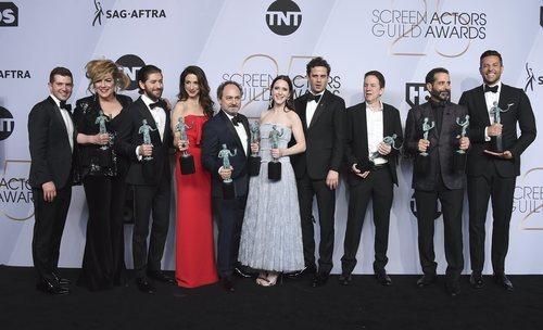 El elenco de 'The Marvelous Mrs. Maisel', premiado en los SAG Awards 2019