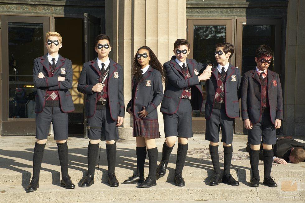 'The Umbrella Academy', la academia formada por superhéroes de Netflix