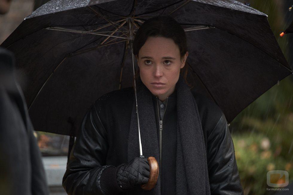 La actriz Ellen Page interpreta a Vanya en 'The Umbrella Academy'