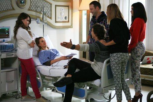 Mira ingresada en el hospital en 'Medcezir'