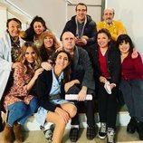 Parte del reparto de la temporada 12 de 'La que se avecina' junto a su directora Laura Caballero