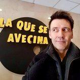 Fran Nortes en el rodaje de la temporada 12 de 'La que se avecina'