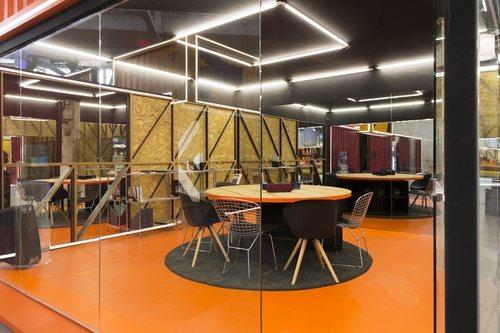 Una sala de trabajo de la escuela de 'Fama a bailar 2019'
