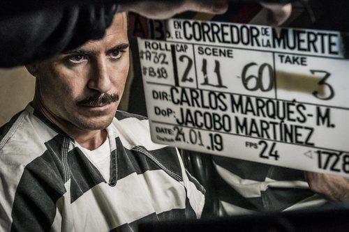 Miguel Ángel Silvestre graba 'En el corredor de la muerte'