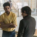 Pau Poch y Ramón Agirre en la miniserie 'En el corredor de la muerte'