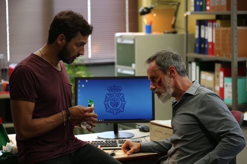 Francesc Garrido y Raúl Prieto en nueva serie de HBO 'La Sala'
