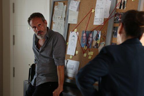 Francesc Garrido en la nueva serie de HBO 'La Sala'