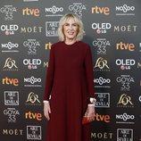 Susi Sánchez en la alfombra roja de los Premios Goya 2019