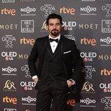Antonio Velázquez en la alfomba roja de los Premios Goya 2019
