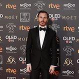 Rubén Ochandiano en la alfombra roja de los Premios Goya 2019
