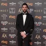 David Broncano en la alfombra roja de los Premios Goya 2019