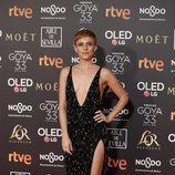 Aura Garrido en la alfombra roja de los Premios Goya 2019