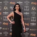 Blanca Romero en la alfombra roja de los Premios Goya 2019