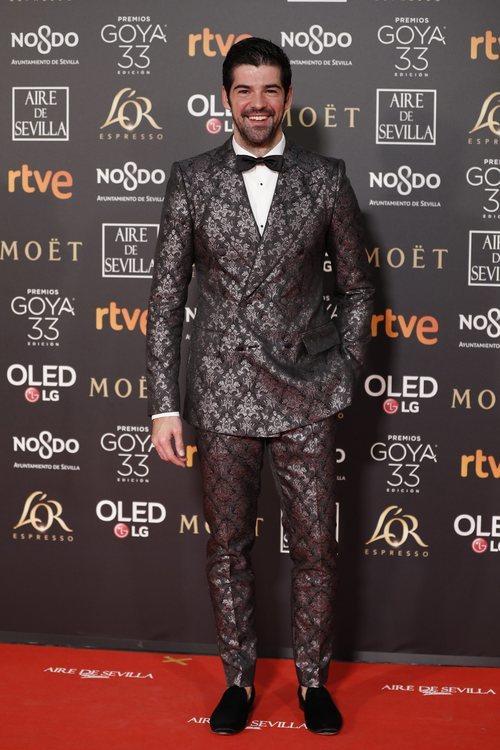Miguel Ángel Muñoz en la alfombra roja de los Premios Goya 2019