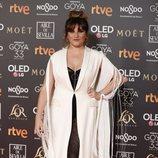 Rozalén en la alfombra roja de los Premios Goya 2019