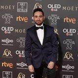 J.A. Bayona posa en la alfombra roja de los Premios Goya 2019