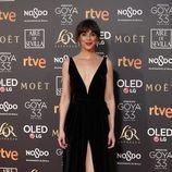 Belén Cuesta posa en la alfombra roja de los Premios Goya 2019