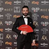 Rodrigo Sorogoyen posa en la alfombra roja de los Premios Goya 2019