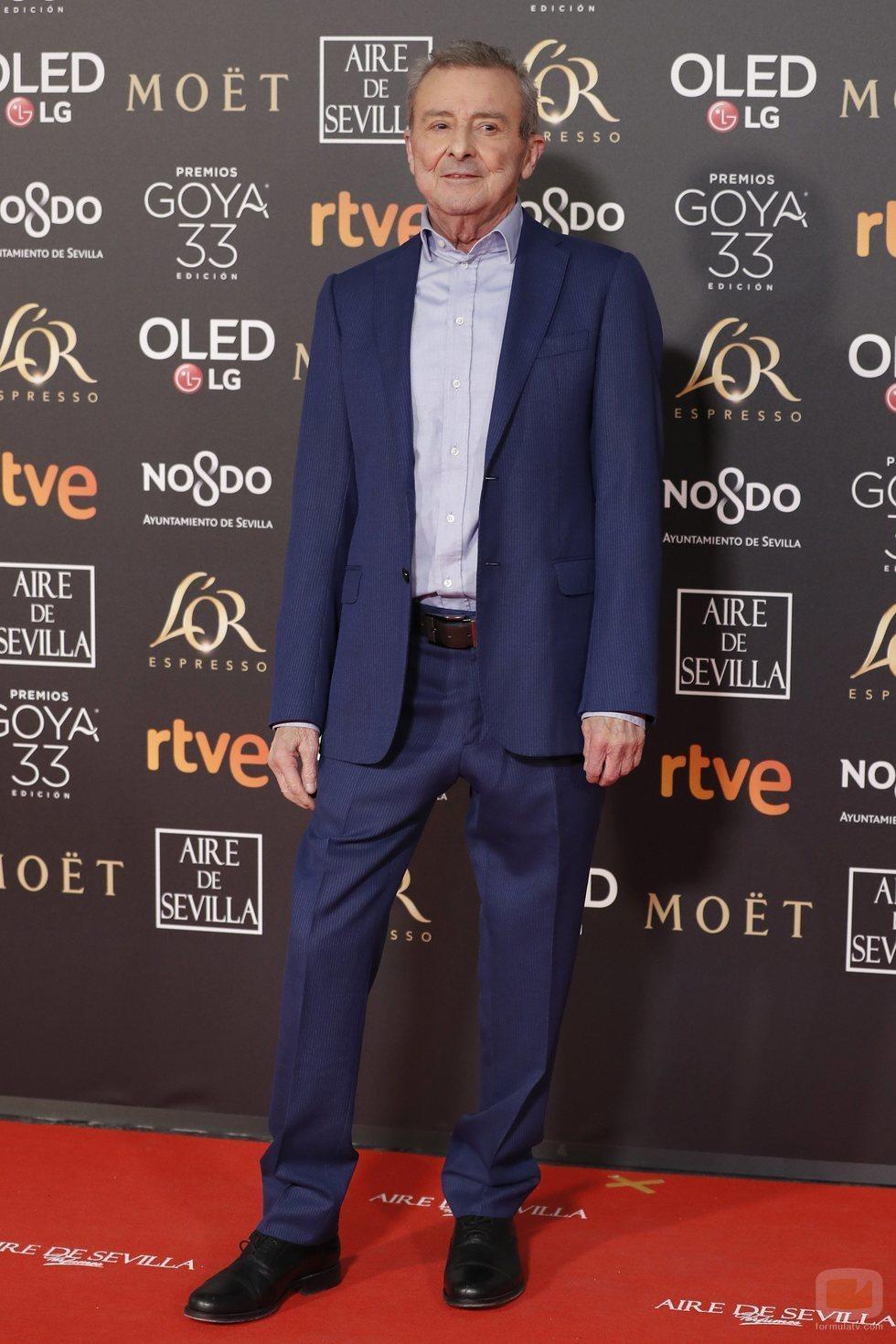 Juan Diego en la alfombra roja de los Goya 2019