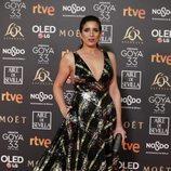 Lucía Jiménez en la alfombra roja de los Premios Goya 2019